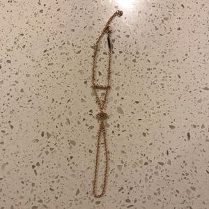 Kendra Scott Rose Gold Claire hand chain